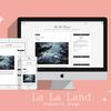 はてぶデザインテーマ★インストールするだけでこなれ感を演出する「La La Land」公開しました