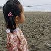 天使を連れ海岸へ