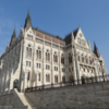 【ブダペスト旅行】2018年2月11日午後、ドナウ川遊歩道の靴、マーチャーシュ聖堂