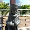 メーテル・鉄郎・ハーロックの銅像がお出迎え@JR小倉駅新幹線口(北口)
