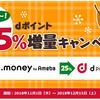 dポイント25%増量キャンペーン2018年がとうとう開幕!12月15日(土)までなので間に合う!