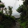 鎌倉、材木座のお寺のさらに先へ