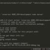 WindowsでWeb開発環境を整える雑記