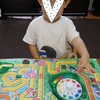 息子と「人生ゲーム」で遊んでます