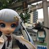 丹頂ミクさんと行く都内の神社【今戸神社編】