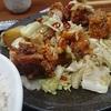 赤カリ・キャベツ炒め定食