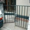 普及品アルミ門扉の取替
