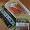 簡単~鮭と新高菜のお弁当