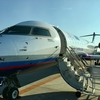 IBEX59 (NGO-FUK) ボンバルディア CRJ-700機に乗る