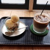 白楽ベーグルで自家製バニラアイスとクリームブリュレ@白楽