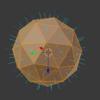 【Blender】【基本操作】法線を表示・再計算・反転する