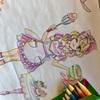 可愛い女の子の絵をカスタマイズできるおもちゃを母が本気で遊んでみたよ。クレヨラ ライトアップトレースパッド