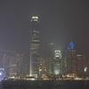 金魚と夜景。香港最後の夜