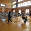 大放課 6年生が会場準備