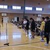 朝会:後期学級委員等任命、challenge、歌エール