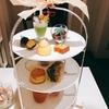 伊丹空港で神戸ホテルのアフタヌーンティーが3000円くらいで食べられるとは、、/ DEAN & DELCA カフェ伊丹空港さんのレモンとリコッタチーズのアップルパイ