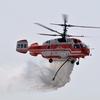 韓国 安山/アンサンエアショー(午後)... 消防ヘリの散水, ブラックイーグルス