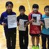 【 試合結果 】第26回宮城県小学生卓球選手権大会(ホープス・カブ・バンビの部)