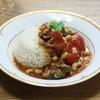<一皿 345g !> ラム肉とお豆のトマトカレー リメイク料理です