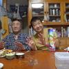 幸運な病のレシピ( 990 )夜:イカ焼機でイカ焼、冷凍イカ刺身、汁、父89歳最後の日(笑)