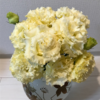 【144】バラの花束。レモンイエロー。