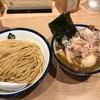 427. 特製濃厚魚介つけ麺@玉(品川):カツオ強めの豚骨魚介!削りたてはやっぱり美味い!