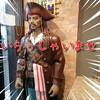 新店|BBQBar&錦KINで一人焼肉ランチを満喫!ジャックスパローもお出迎え
