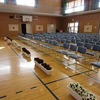 入学式② 式場と祝電