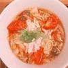 【おいしーい!】トマトのサンラータン麺が美味しい🍅