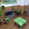 簡単DIYで部屋をジャングル風に。テーマは森の中。