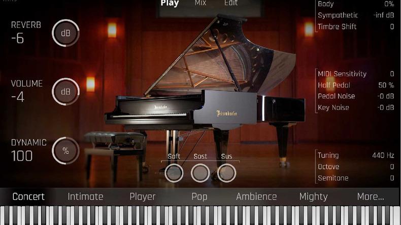 VIENNAの技術で音源化した97鍵グランド・ピアノBÖSENDORFER Imperial
