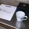 ロイヤルコペンハーゲンのマグカップを購入しました。