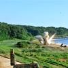 米韓軍、日本海でミサイル射撃演習 北朝鮮の挑発に対抗