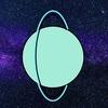 お題絵日記『なぞの天王星』