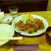 タカズダイナーの唐揚げ定食