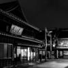 夜の川越「蔵造りの町並み」