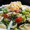 ミカン入り、ニース風春野菜サラダ