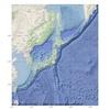 Pythonでコピーフリーの海底地形き日本地図を作ってみる