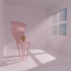 【Blender #30】光芒を付ける