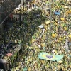 ブラジル独立記念日 大規模デモ!