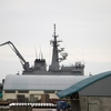 輸送艦しもきたLST-4002が2019年7月釧路にやって来ました。