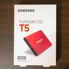 【外付けSSD】SamsungのポータブルSSD「T5」がお値打ち価格になってきたから買ってみたよ
