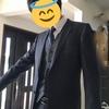 スーツを新しく買ったよ