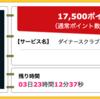 【ハピタス】ダイナースクラブカードが期間限定17,500pt(17,500円)にアップ! さらにもれなく最大60,000ポイントがもらえる新規入会キャンペーンも!