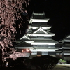 松本駅~松本城「夜桜会」(2016年4月5日 その2)
