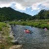 南光自然観察村キャンプその③川遊び&BBQ