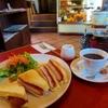 【松本モーニング】時代遅れの洋食屋「おきな堂」珈琲とチキンカツサンドでまったり