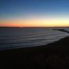 羨古丹の夕日を見て