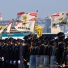 平成30年 神奈川県警察年頭視閲式 2018