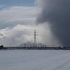 青空と雪雲〜ッ!…